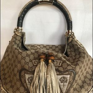 Gucci Large Limited Edition Crest Patchwork Indy